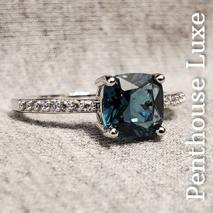 Peacock Blue Topaz 925 Sterling Silver Ring